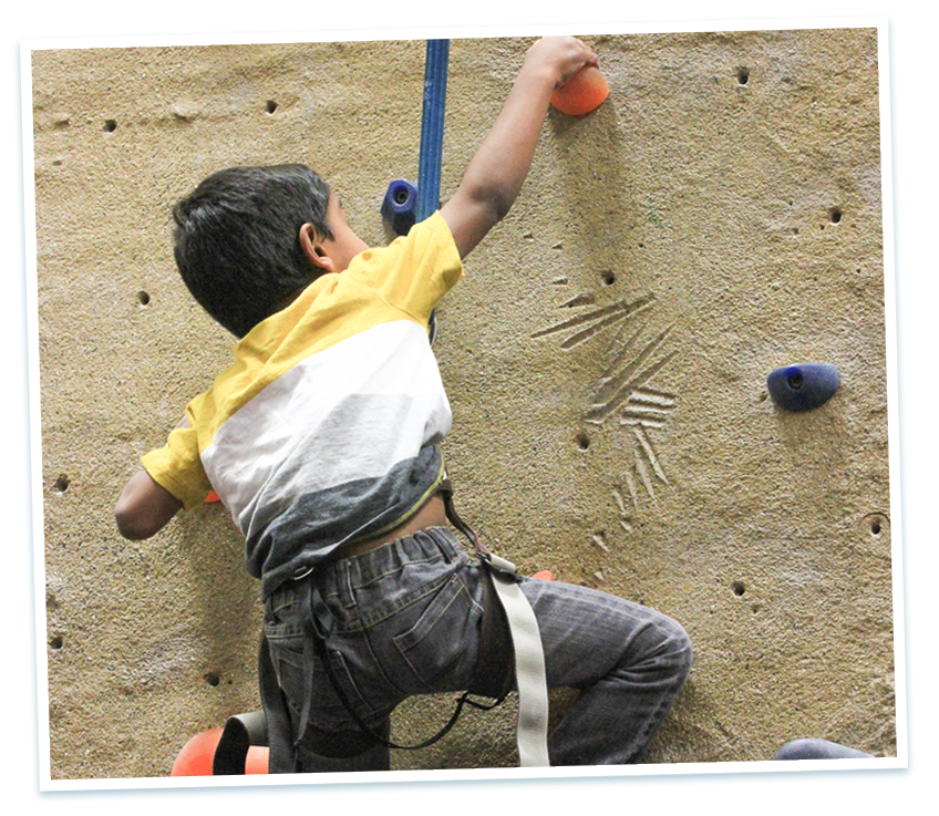 youth climbing classes