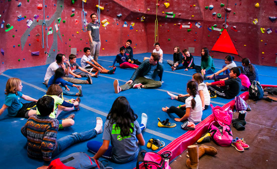 Rope Climbing Group Events